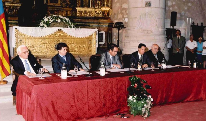 Convenio de Alarcón, año 2001
