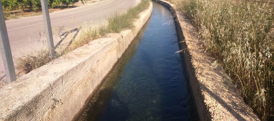 Acequia de riego de Albalat de la Ribera